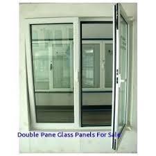 double pane glass panels casement window china for door sliding standard size sliding glass doors double pane