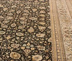 tabriz pak persian jewel charcoal gray area rug 10 0 x14 3 traditional area rugs by bareens designer rugs