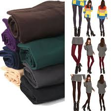 Vogue Women <b>Cotton</b> Blend Thick Warm <b>Autumn Winter</b> Pantyhose ...