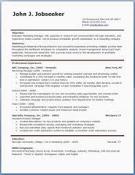 Resume Templates Wordpad Resume Template Awesome Free Resume Resume