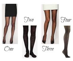 Patterned Hosiery Enchanting Seeing Spots In Patterned Hosiery