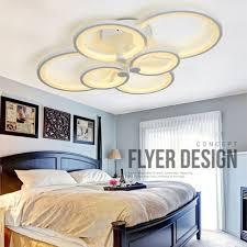 acrylic modern led ceiling chandelier lights for living room bedroom home lamp