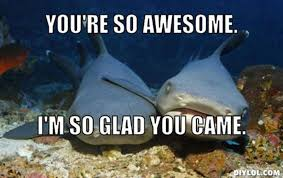 DIYLOL - You're so awesome. I'm so glad you came. via Relatably.com