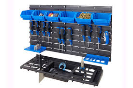 wall mounted tool rack organizer
