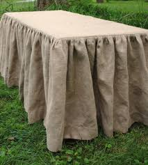 Burlap Round Table Overlays Sale Sale Price Is 2000 Off No Coupon Need Burlap