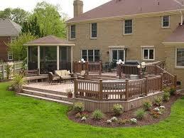 composite deck ideas. Outdoor:Modern Composite Decking Ideas Deck L