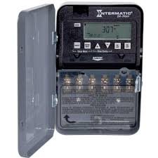 intermatic 30 amp 24 hour spst 2 circuit electronic time switch