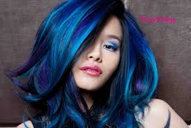 Purple Hair Style turquoise blue purple ombre hair youtube 3285 by wearticles.com