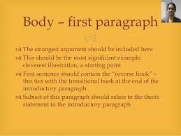 five paragraph essay  essay introductory paragraph 4