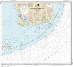 Noaa Charts Florida Keys 11450 Florida Keys Fowey Rocks To American Shoal Nautical Chart