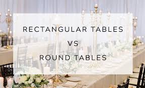 rectangular tables vs round tables east lansing michigan fl event design east lansing florist wedding designer event designer fl