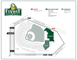 Stubhub Fenway Seating Chart Fenway Beer Fest Boston Red Sox