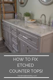remove etch from marble