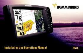 Humminbird 967c User Manual
