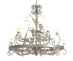 chandeliers custom wrought iron chandelier photo gallery of chandeliers viewing beautiful ace intended for c