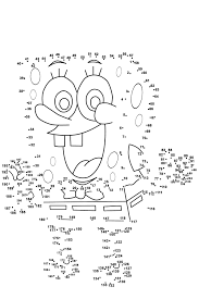 free dot to dot printables. Perfect Dot Dot To Printables Spongebob Medium Level  Activity Shelter Inside Free To