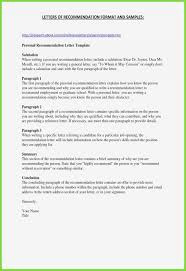 Recommendation Letter For Job Template References Layout For Resume