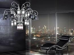 ultra modern chandelier