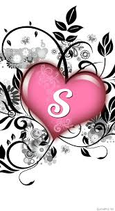 s letter in love wallpapers