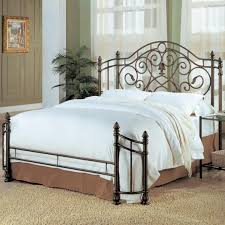 Home Excellent. Great Wrought Iron Bed Frame Queen High Definition ...