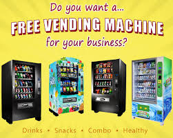 Healthy Snacks Vending Machine Business Interesting Free Vending Machine In Your Business