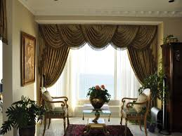 ... Living Room, Living Room Curtains Brown Curtain And Vas With Table With  Chair: Inspiration ...
