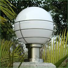 lighting contemporary outdoor lamp post lighting outdoor waterproof classic round ball lamp post caplights wall