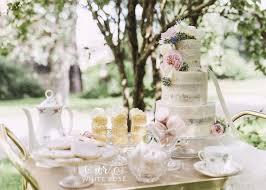 Summer Tea Party Wedding Dessert Table By White Rose Cake Design