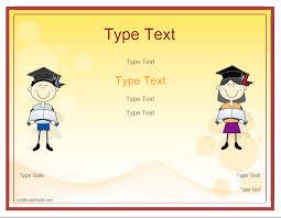 Blank Certificates Graduation Certificate Templates