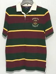polo ralph lauren rugby polo shirt men s bleecker cup patch striped m l xl 2xl