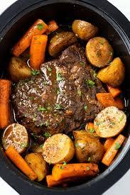 crock pot roast with gravy the