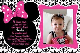 Free Customizable Invitation Templates Free Birthday Invitation Templates Minnie Mouse Ariannas Birthday 20
