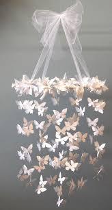 diy mobile swarming erfly chandelier