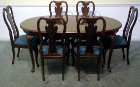 queen anne dining room table and chairs. thomasville dining room set home design ideas queen anne table and chairs