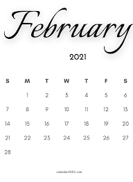 See a list of the february 2021 holidays how many days till then and what weekday they occur on. February 2021 Calendar Wallpapers Top Free February 2021 Calendar Backgrounds Wallpaperaccess