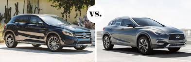 Besides the interactive hey, mercedes system and a power tailgate, the. 2019 Mercedes Benz Gla 250 Vs 2019 Infiniti Qx30