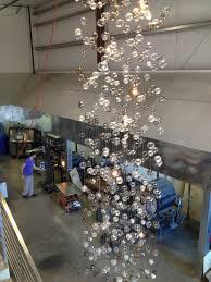 glass bubble chandelier lighting. Floating Glass Bubble Chandelier Musethecollective Lighting E