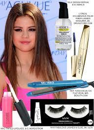 copy selena gomez choice awards hair makeup