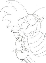 Larry Koopa Coloring Pages