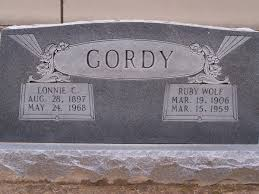 Ruby Wolf Gordy (1906-1959) - Find A Grave Memorial
