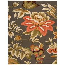nourison french country grey 8 ft x 11 ft area rug