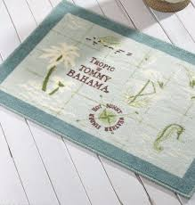 interesting tommy bahama bath rug tommy bahama island bath rug mat aqua tropical palm tree