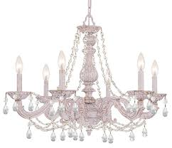 crystorama paris market 6 light chandelier french country lighting