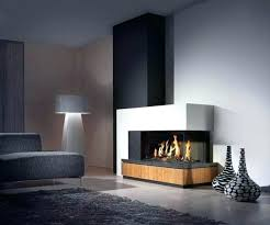 contemporary ventless gas fireplaces s modern corner ventless gas fireplace