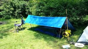 diy camping tent i used 2 trekking poles for this configuration this is my typical lightweight version homemade camping tents