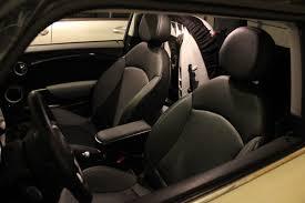 child car seats in a mini cooper
