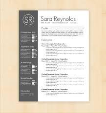 Design Resume Template Design Resume Template Resume Template Sara