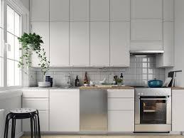Plain White Kitchen Cabinets Scandinavian Kitchens Ideas Inspiration