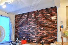 Small Picture PBJstories How to Paint an Interior Brick Wall PBJreno