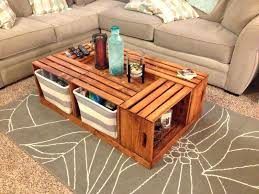 crate coffee table fd and barrel for michaels with legs